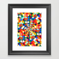 Colorful Nite Framed Art Print