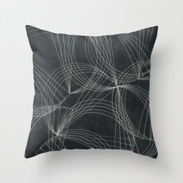 fractal graphic pattern Throw Pillow