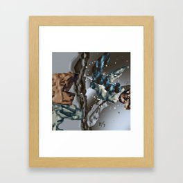 Carried Through a Drift Framed Art Print