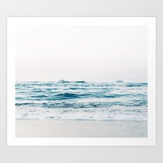 Kiss Me Like A Wave Art Print