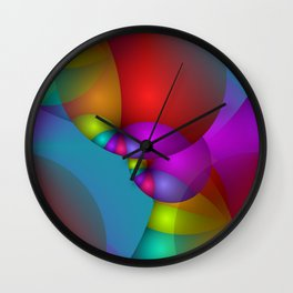 3D abstraction -14- Wall Clock