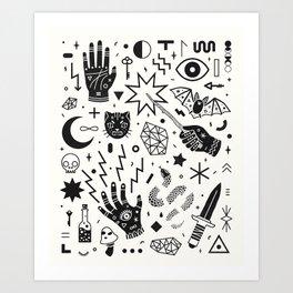 Witchcraft II Art Print
