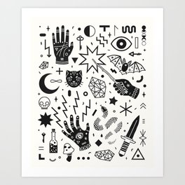 Witchcraft II Art Print