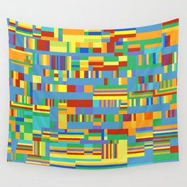 Chromatetude (Candy Colours) Wall Tapestry