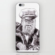 wookie wild one iPhone & iPod Skin