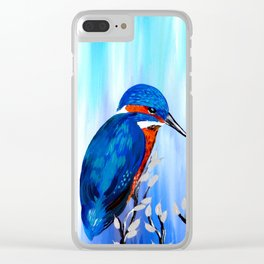 Kingfishers Clear iPhone Case
