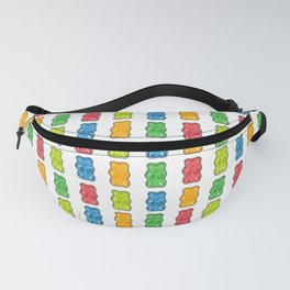 Rainbow Gummy Bears Fanny Pack