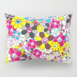 Social flowers Pillow Sham