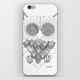 Angelina Bowen Fine Art Print- Owl iPhone Skin