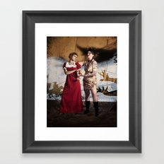 Vasalisa the Beautiful Framed Art Print