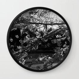Athens, Ohio Sakura Trees Wall Clock