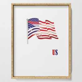 American Carribean Island San Juan Democracy Political Puerto Rico Is Part Of Us USA Gift Serving Tray