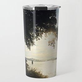 Mississippi River at Natchez Travel Mug