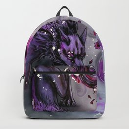 Blossom Wolf Backpack