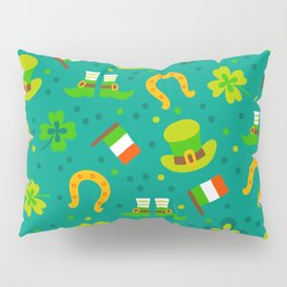 St Patrick's Day: Irish Luck Pattern Pillow Sham
