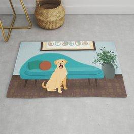 A Labrador Retriever Makes A House A Home Rug