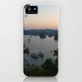 view of halong bay iPhone Case