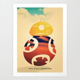 Desert Poster Art Print