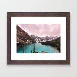 Moraine Lake Banff National Park Framed Art Print
