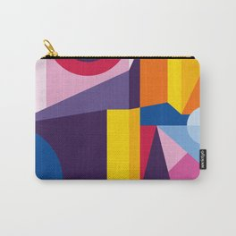 Abstract modern geometric background. Composition 2 Carry-All Pouch