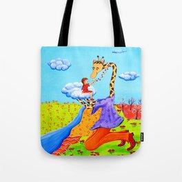 A Little Girl's Dream Tote Bag