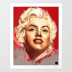 Norma Art Print