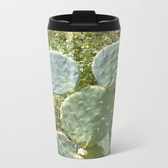 Mickey Cactus | Greek Nature Metal Travel Mug