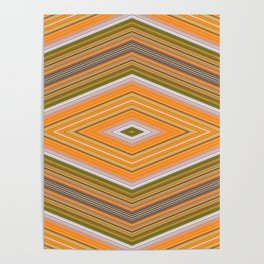 Many Squares Poster