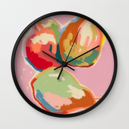 PERFECT PEARS Wall Clock