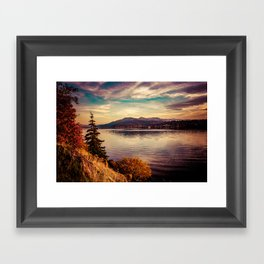 Serenity Lake Framed Art Print