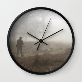 Out there and shooting Wall Clock