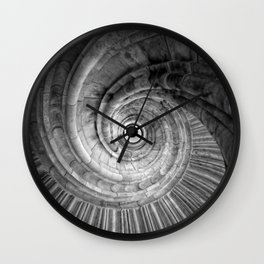 Winding staircase Wall Clock