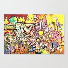 Guaranteed Investment Return Canvas Print