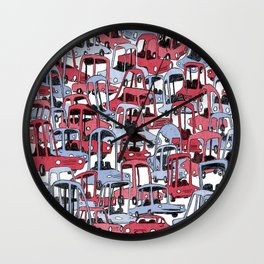 Cars! Wall Clock