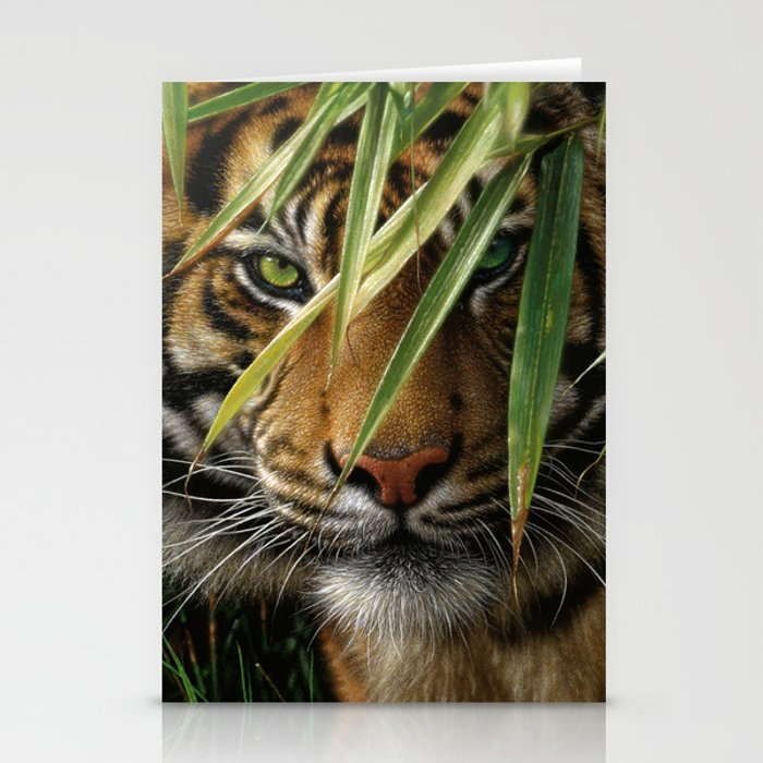 Tiger - Emerald Forest Stationery Cards