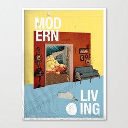 Modern Living  Canvas Print