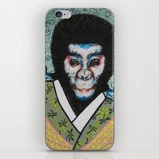 Kabuki face paint iPhone & iPod Skin