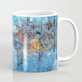 Frozen window Coffee Mug