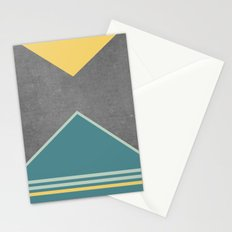 Concrete & Triangles III Stationery Cards