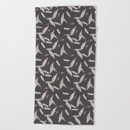 Little birds Beach Towel