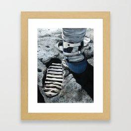 Moonboot Framed Art Print