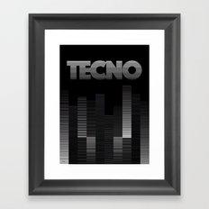 TECNO Framed Art Print