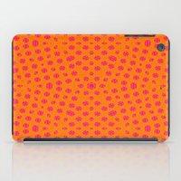 orange pattern iPad Cases featuring orange Pattern by LoRo  Art & Pictures