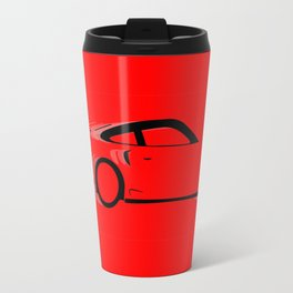 Fast Red Car Travel Mug