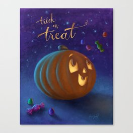 Trick or Treat! Canvas Print