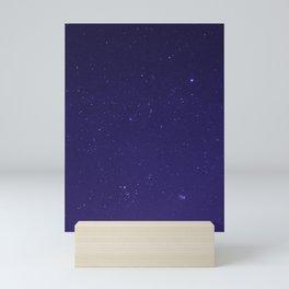 Violet Stars in the Salish Sea Mini Art Print