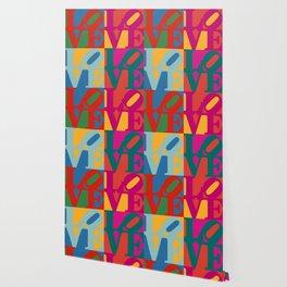 Love Pop Art Wallpaper