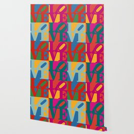 Love Pop Art Wallpaper