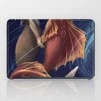 mermaids iPad Cases featuring Mermaids by laya rose