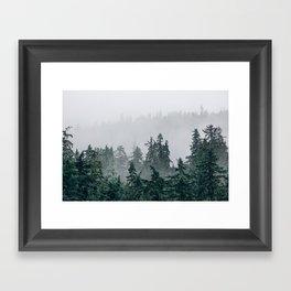 The Faded Fog Framed Art Print